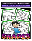 2D Shapes - Find the Number of Sides and Corners - Grades 2-3 (2nd-3rd Grade)