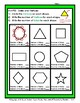 2D Shapes - Find the Number of Sides and Vertices - Grades 3-6 (3rd-6th Grade)