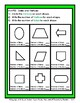 2D Shapes - Find the Number of Sides and Vertices - Grades 3-4 (3rd-4th Grade)