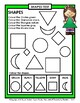 2D Shapes - Identify and Colour the Shapes - Kindergarten