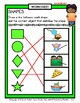 Shapes - 2D Shapes - Match Objects to Shapes-Kindergarten to Grade 1 (1st Grade)