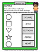Shapes - 2D Shapes - Match Shape to Shape Word - Grades 1-2 (1st-2nd Grade)