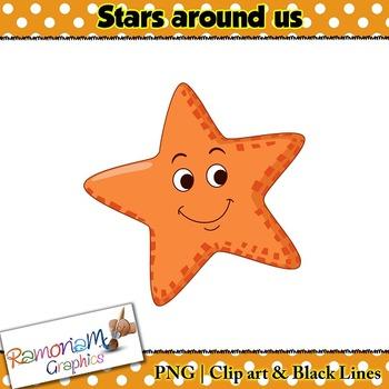 Shapes 2D Star Clip art