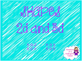 Shapes - 2D and 3D Flipchart
