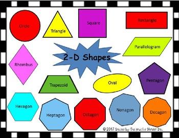 Shapes 2D and 3D Mat