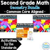 Shapes 2nd Grade: Activities by the Standards Geometry Bundle