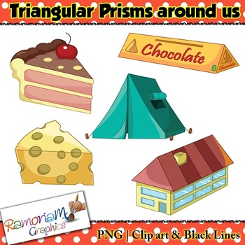 Shapes 3D Triangular Prism Clip art