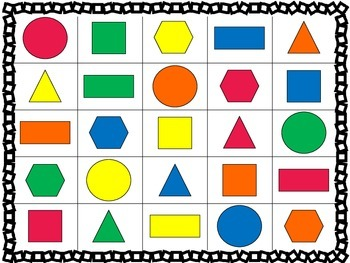 Shapes! 5 Math Activies for Teaching 2-D Shapes