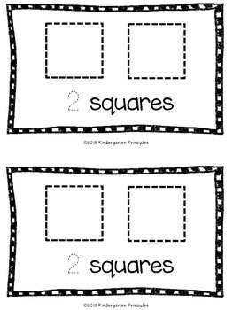Shapes: A Counting Emergent Reader (Common Core Aligned)