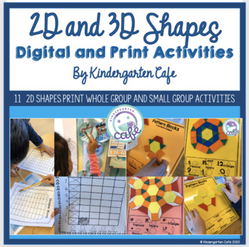 Shapes: A Math Unit Great for Distance Learning!