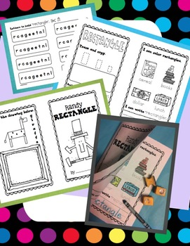 Shapes - A Selection of Shapes Interactive Booklets