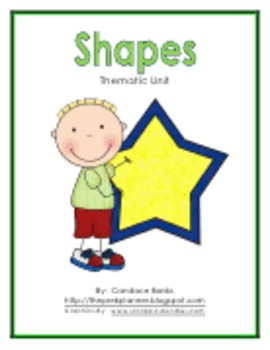 Shapes: Fun Lessons to Teach Children About Shapes (89 pages)