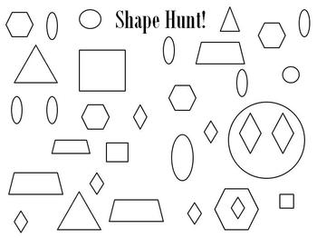 Shapes: A look and find