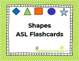 Shapes - ASL Flashcards