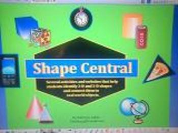 Shapes -  Activboard Activities for Math Centers