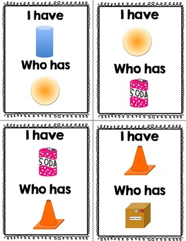 Shapes Activities- Solid and Flat Shapes