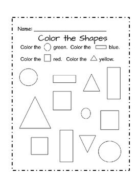 2D Shapes Activities (Posters, flashcards, mini book, worksheet)