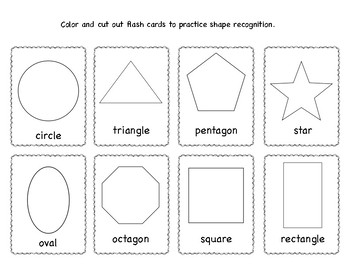 Shapes Activities and Flash Cards