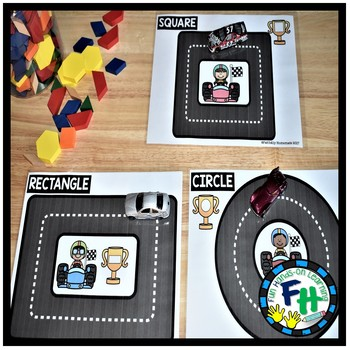 Shapes Activity Centers {8 Geometry Centers}