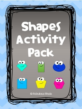 Shapes Activity Pack