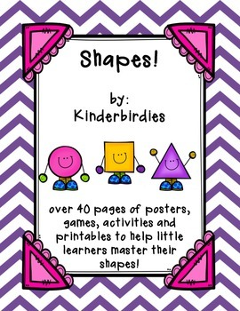 Shapes! Activity Pack
