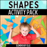 Shapes Activity Pack - 2D & 3D Shapes {Common Core Aligned}