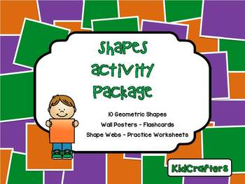 Shapes Activity Package