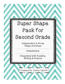 Shapes Activity and Assessment Pack