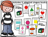Shapes Adapted Book