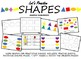 #SpedChristmas2 Adapted Work Binder: SHAPES