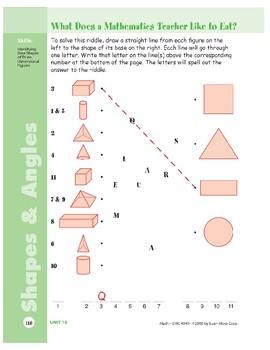 Shapes & Angles