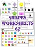 Shapes Angles & Sides Worksheets 62