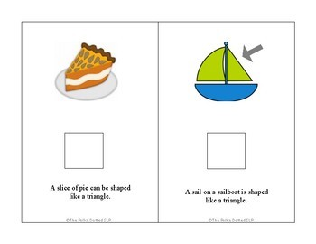 Shapes Are All Around Us Interactive Book
