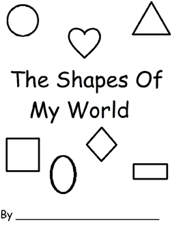 Shapes Are Everywhere: A Great Workbook to review shapes,