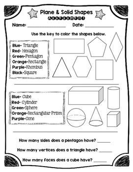 Shapes Assessment