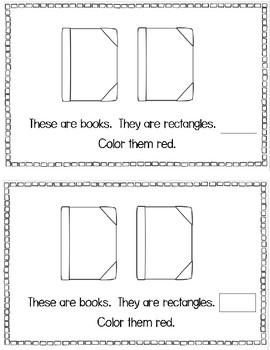 Shapes Emergent Reader