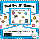 Shapes BOOM Cards Find the Shapes 2D