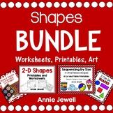 Shapes Bundle for Pre-K and Kindergarten
