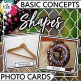 Shapes Speech Therapy Basic Concepts Photo Flashcards