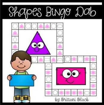 Shapes Bingo Dab
