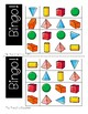 Shapes Bingo! Solid / 3D Shapes Identification Game