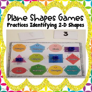Plane Shapes Games
