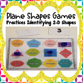 Plane Shapes Games