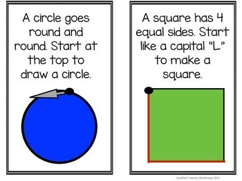 2D Shapes Can Be Many Things Make a Book