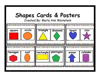 Shapes Cards & Posters