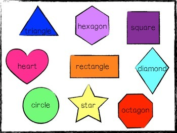 Shapes Center Activity