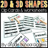 2D and 3D Shapes Centers