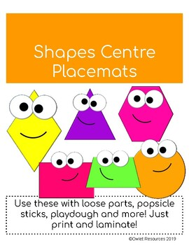 Shapes Centre Printables