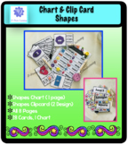 Shapes Chart & Clip Card