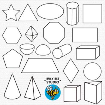 Shapes Clip Art 2D &3D